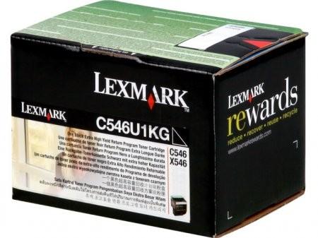 Original Lexmark Toner C546U1KG black - Neu & OVP