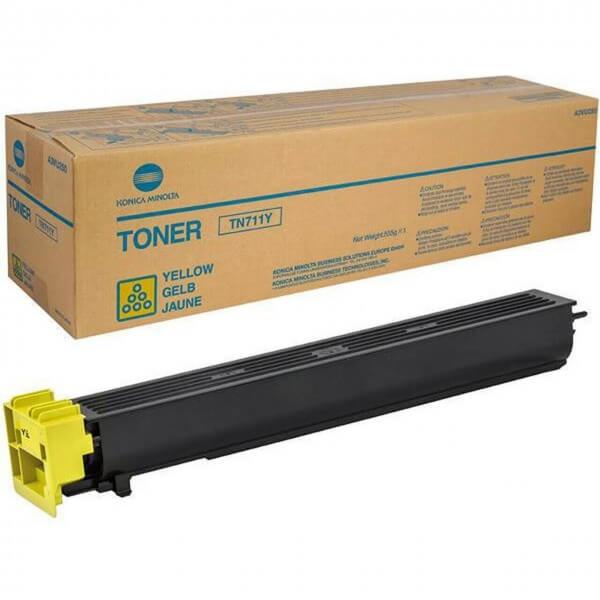Konica Minolta Toner TN711Y yellow