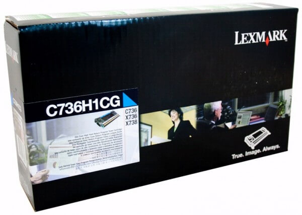 Lexmark Toner C736H1CG cyan