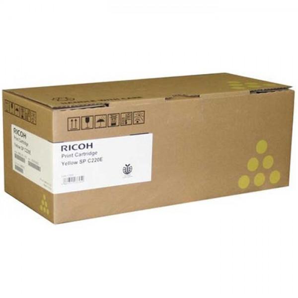 Original Ricoh Toner 406055 TYP SPC220E yellow - Neu & OVP