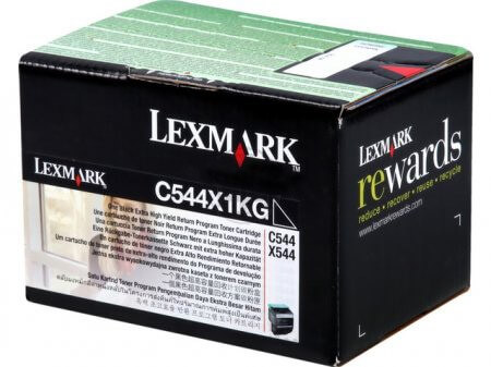 Lexmark Toner C544X1KG black - reduziert