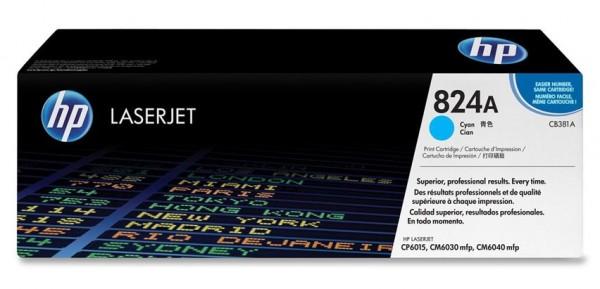 Ori. HP Color Laserjet Toner CB381A cyan - Neu & OVP