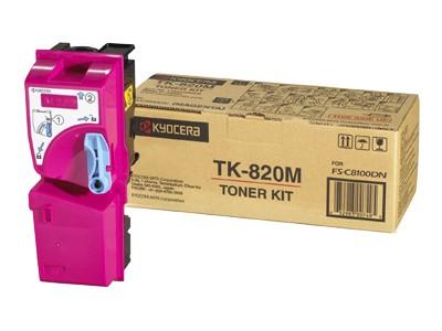 Kyocera Toner TK-820M magenta