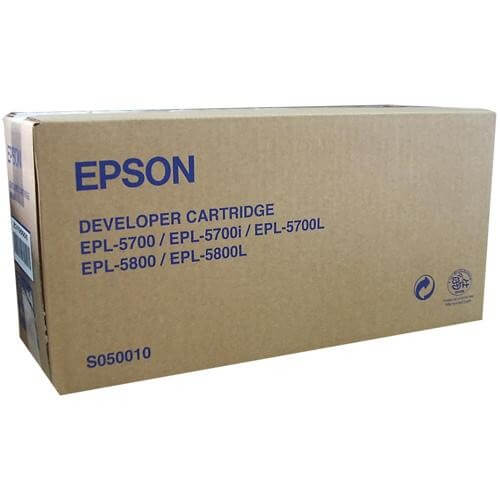Original Epson EPL Developer Cartridge S050010 - Neu & OVP