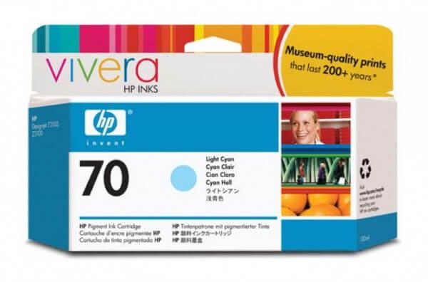 HP Nr. 70 Tinte C9390A light cyan