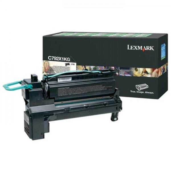 Lexmark Toner C792X1KG schwarz - reduziert