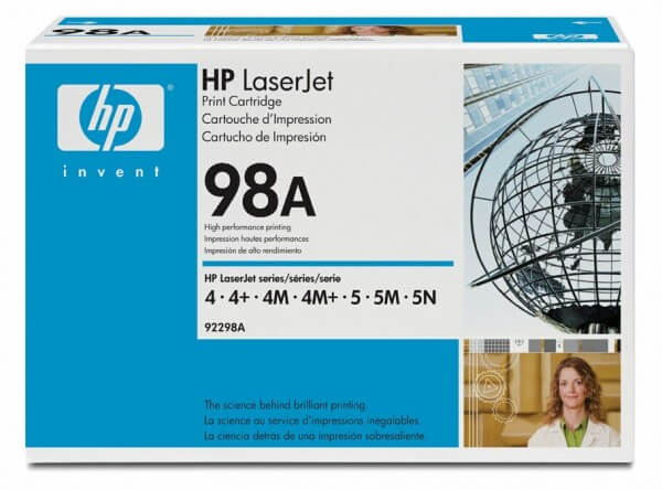 Original HP Laserjet Toner 92298A black - Neu & OVP