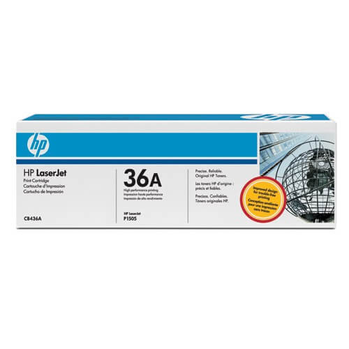 HP Laserjet Toner CB436A black - reduziert