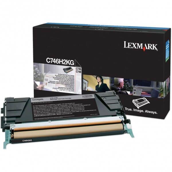 Lexmark Toner C746H2KG black - reduziert