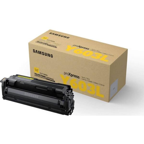 Samsung Toner CLT-Y603L/ELS yellow