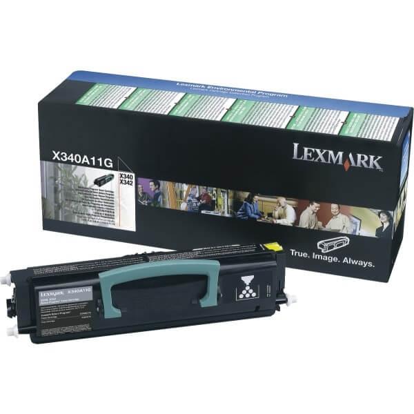 Original Lexmark Toner X340A21G black - reduziert