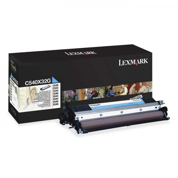 Original Lexmark Fotoleiter C540X32G cyan - C-Ware