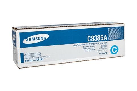 Original Samsung Toner CLX-C8385A cyan - Neu & OVP