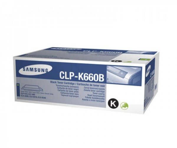 Original Samsung Toner CLP-K660B black - reduziert