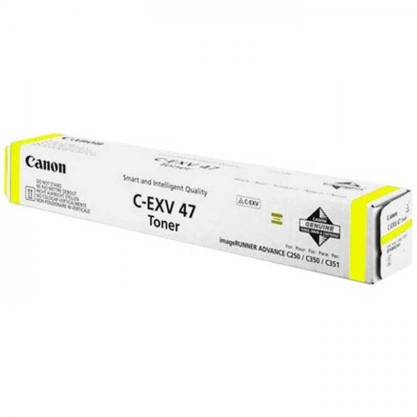 Canon Toner C-EXV47 Toner 8519b002 yellow