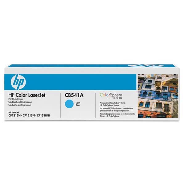 HP Color Laserjet Toner CB541A cyan