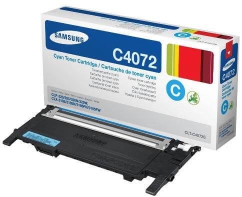 Original Samsung Toner CLT-C4072S cyan - Neu & OVP