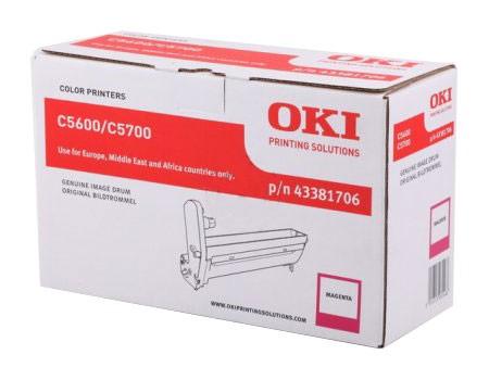 OKI Image Drum 43381706 magenta