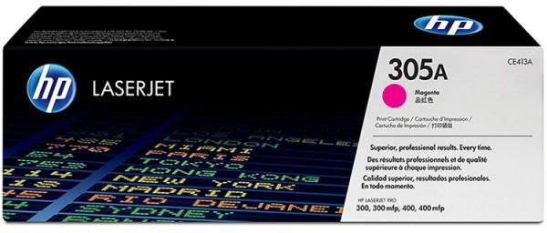 HP Laserjet Toner CE413A magenta - reduziert