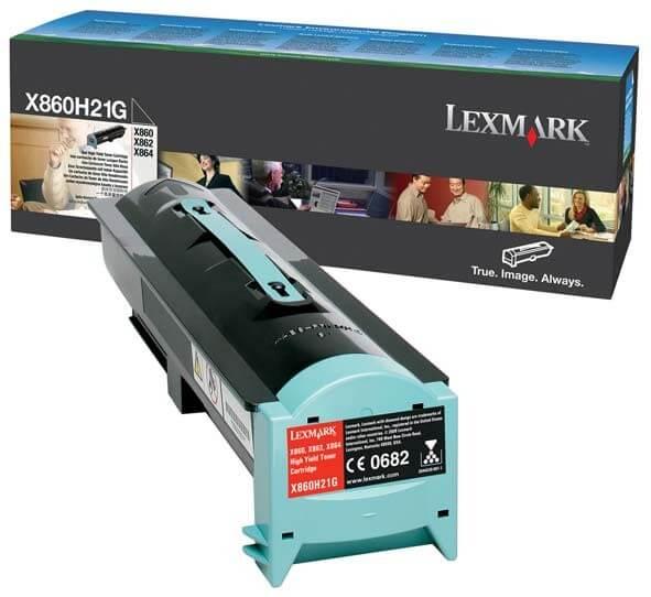 Lexmark Toner X860H21G black