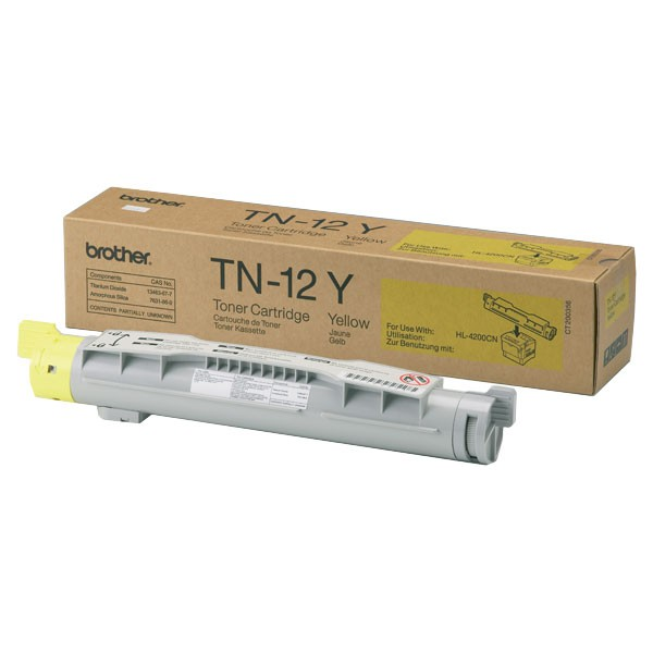 Brother Toner TN-12Y yellow