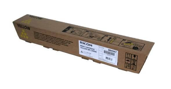 Original Ricoh Toner 884947 yellow - reduziert
