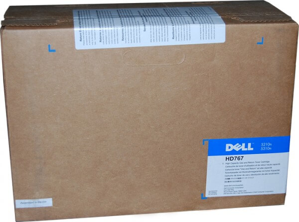 Dell HD767 Toner 595-10011 black