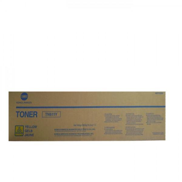 Ori. Konica Minolta Toner A070260 yellow - Neu & OVP