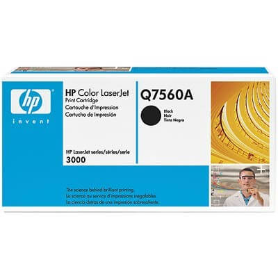 HP Color Laserjet Toner Q7560A black