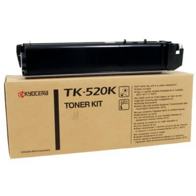 Original Kyocera Toner TK-520K black - Neu & OVP