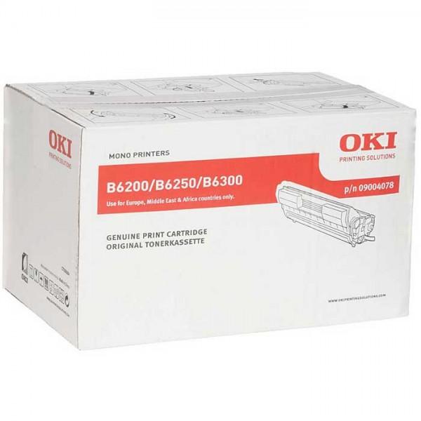 Original OKI Toner 09004078 black - reduziert