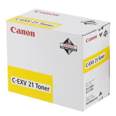 Original Canon Toner C-EXV21 Toner 0455B002 yellow - reduziert