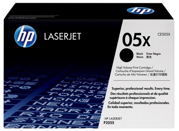 HP Laserjet Toner CE505X black - reduziert