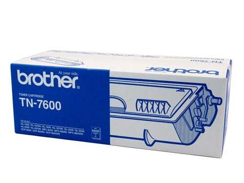 Original Brother Toner TN-7600 black - reduziert