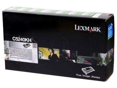 Original Lexmark Toner C5240KH black - reduziert