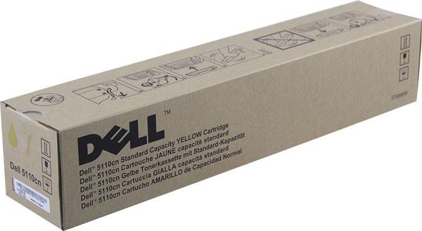 Original Dell GD908 Toner 593-10122 yellow - Neu & OVP