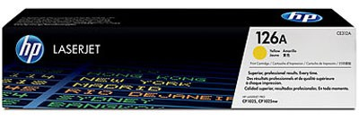 Original HP Laserjet Toner CE312A yellow - Neu & OVP