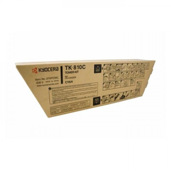 Original Kyocera Toner TK-810C cyan - Neu & OVP