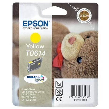 Epson T0614 Tinte C13T06144010 yellow