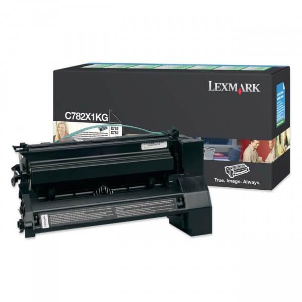 Lexmark Toner C782X1KG black - reduziert