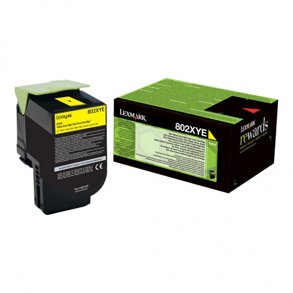 Lexmark Toner 80C2XYE yellow