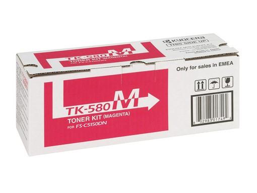 Original Kyocera Toner TK-580M magenta - Neu & OVP