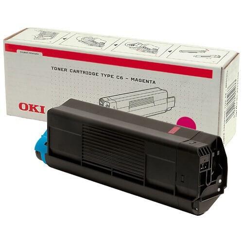 Original OKI Toner 42804506 magenta - reduziert