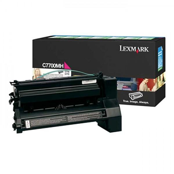 Original Lexmark Toner C7700MH magenta - Neu & OVP