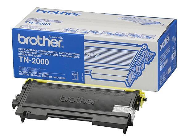 Original Brother Toner TN-2000 black - reduziert