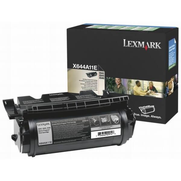 Original Lexmark Toner X644A11E black - reduziert