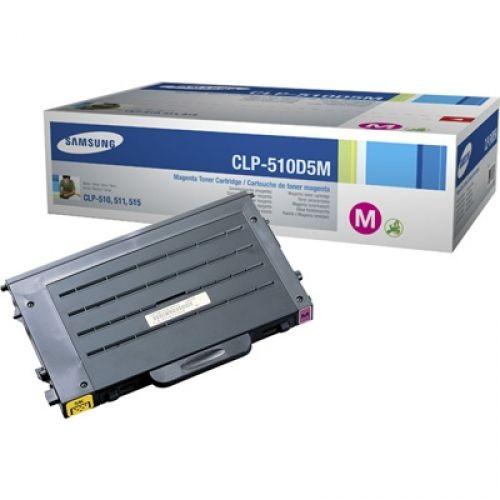 Original Samsung CLP Toner CLP-510D5M magenta - Neu & OVP
