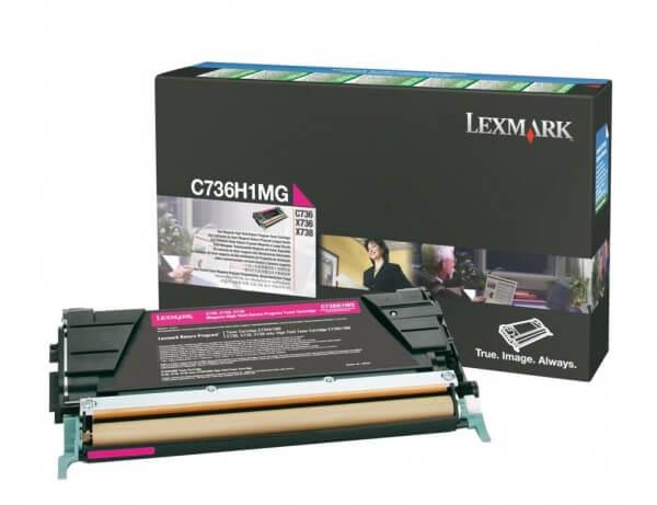 Lexmark Tonerpatrone C736H1MG magenta