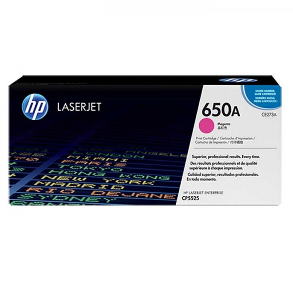 Original HP Laserjet Toner CE273A magenta - reduziert