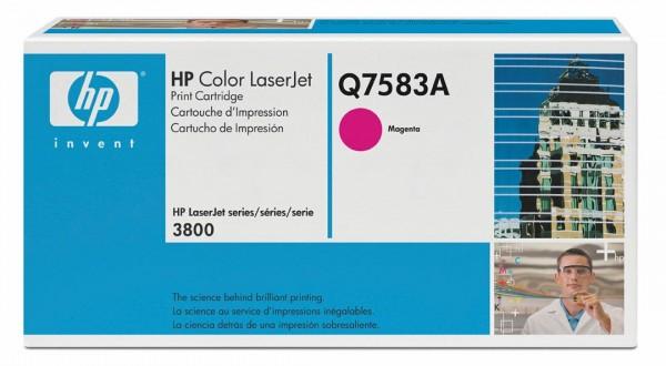 HP Color Laserjet Toner Q7583A magenta - reduziert